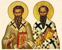 San Basilio Magno & San Gregorio Nazianzeno