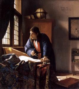Vermeer sotto le due Torri