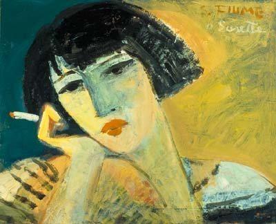 Ritratto della poetessa Marina Cvetaeva