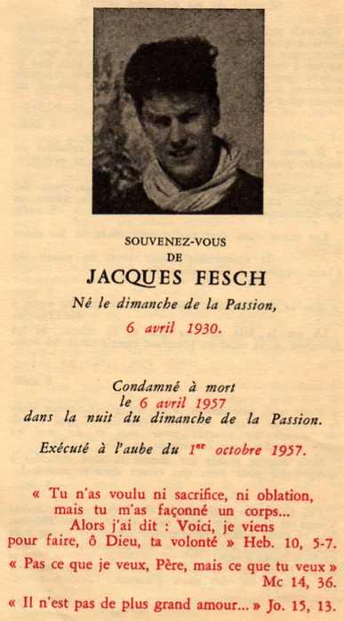 2014-057 Jacques Fesch Memento