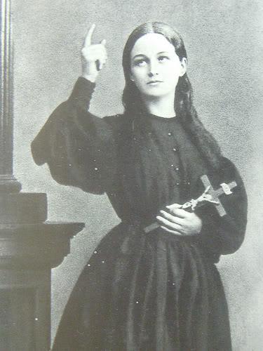 Santa Clelia, mistica