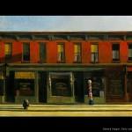 Edward Hopper : Sunday morning (A masterpiece)