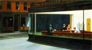 Edward Hopper: That's my cup of  tea.