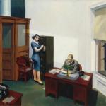 Edward Hopper : Office at night