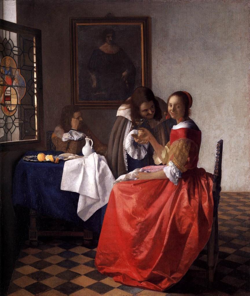 Vermeer: La coquette.