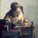 Vermeer: La merlettaia.