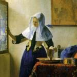 Vermeer: Donna alla finestra.