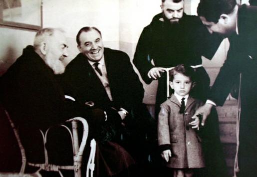 Padre Pio e Carlo Campanini