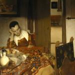 Vermeer: Donna addormentata.