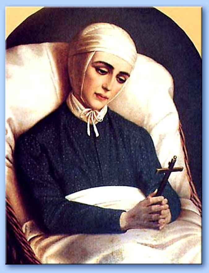 Anna Emmerick, mistica tedesca del XIX secolo, che parlò della grande apostasia