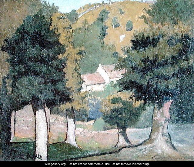 Emile Bernard: Paesaggio .