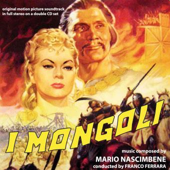 I mongoli, con Anita Ekberg & Jack Palance