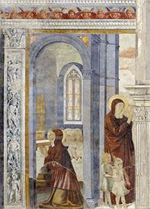 Duomo di Pisa, Benozzo Gozzoli: Scene della vita di Sant'Agostino