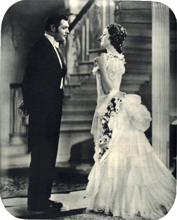 Clark Gable nel ruolo di C.S. Parnell; e Myrna Loy, in quello di Katherine O'Shea, nel film del 1937.