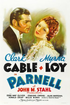 "Poster del film ""Parnell"", 1937"