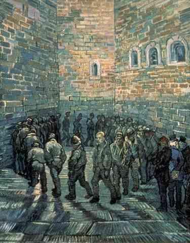 Vincent : Ora d'aria in prigione, ovvero i carcerati sono persone in carne ed ossa.