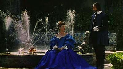 El perro del hortolano, una scena del film , con la protagonista Diana