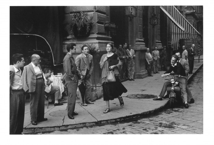 Mario De Biasi: American girl in Italy (anni 50).  I foto