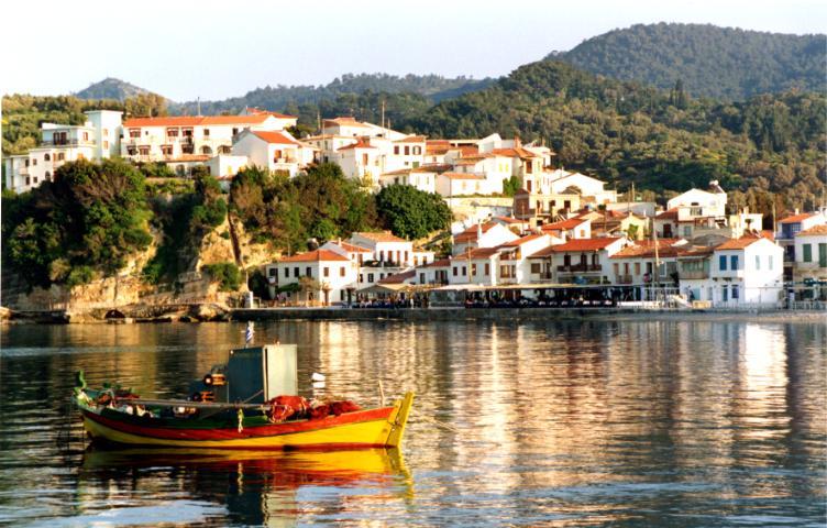 L'isola di Samo, patria di Epicuro, Pitagora & Aristarco