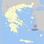 Geografia dell'isola di Samo.