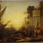 Claude Lorrain: Cleopatra sbarca a Tarso