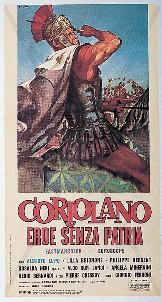 """""""Coriolano"""" al cinema"""