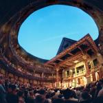 """Modello del """"Globe"""" il teatro del Bardo"""