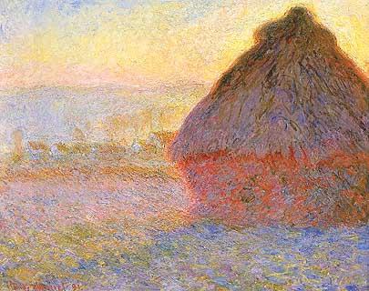 Claude Monet :Govone; sole calante, ovvero la bellezza del creato.