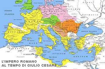 Roma al tempo di Giulio Cesare
