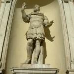(Mutina) Modena: Statua di Marco Emilio Lepido