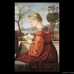 Vergine in lettura: anche allora, le donne leggevano più dei maschietti