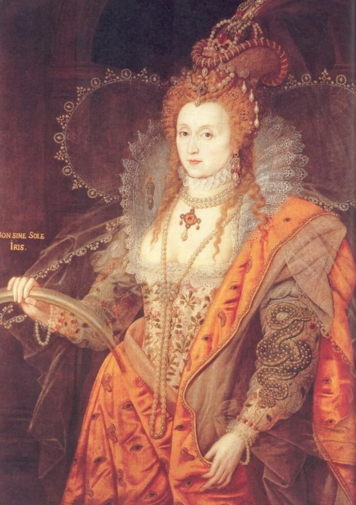 La Regina Elisabetta I, figlia di Enrico