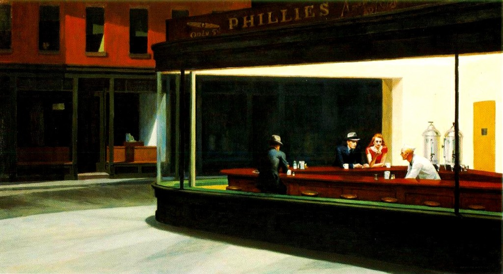 Hopper: Nightawks, ovvero la solitudine sospesa della notte