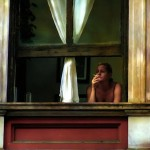 Hopper: Donna sola alla finestra