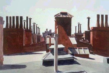 Edward Hopper (II): La città di notte