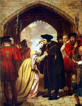 L'addio di S. Thomas More alla figlia Catherine