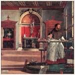 Sant'Agostino nel suo studi (Scuola Grande di S: Giovanni)