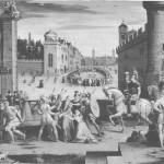Arresto di S. Thomas More; bulino di Antoine Caron
