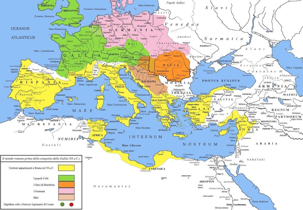 Roma, nel 58 a.C.