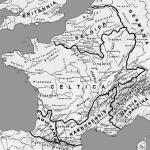 Mappa dei popoli delle Gallie