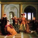 Petruccio in casa di Battista