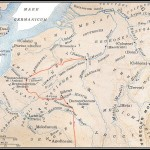 Reno: a sinistra, i Galli; a destra, i Germani