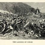 Cesare sbarca sulle isole Britanniche