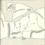 Cartografia del Nord Europa, secondo i Romani