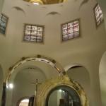 Chiesa delle Beatitudini, Terra Santa, interno