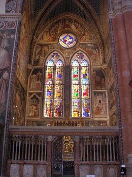 Vetrate Cappella Bolognini