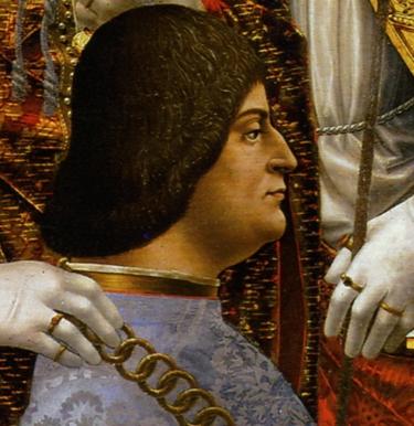 """Ludovico il Moro, """" rovina d' Italia"""", secondo Guicciardini"""