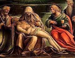 """""""Pietà"""" di Aspertini. Un altro capolavoro in S: Petronio"""