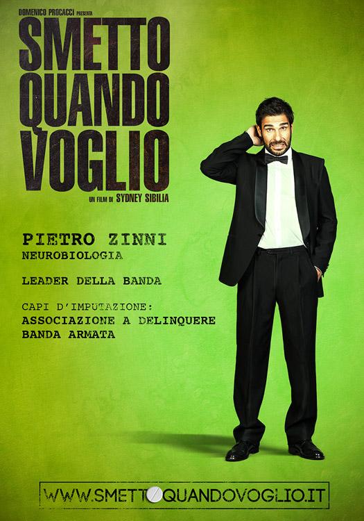Edoardo leo, alias Pietro Zinni