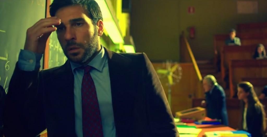 """Pietro Zinni, protagonista di """"Smetto quando voglio"""", al momento della bocciatura"""